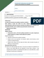 Modulo 7 Politica Monetaria