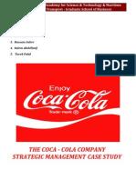 Coca Cola 2009 Case Study