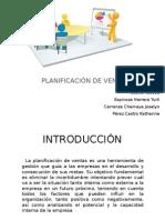Proceso de Planificación de Ventas