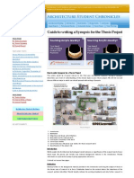 Guide to Writing a Synopsis for the Thesis Project _ Architecture Student Chronicles