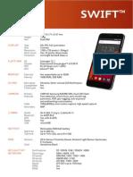Wileyfox Swift Specifications