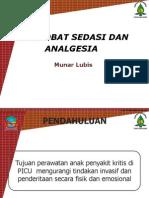 3 Obat Sedasi Dan Analgesia-prof Munar -Lubis (1)