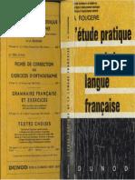 l Etude Pratique de La Langue a Rougerie