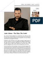 Amir Adnan - The Man, The Label