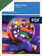 Methacrylate Esters Safe Handling Manual (2008