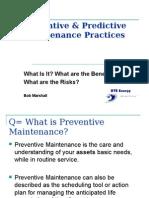 BM - Preventive & Predictive