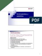 Tema 1a.- Aminoácidos y Péptidos(1)