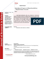 Length-Weight Relationships of 21 species of Elasmobranchii from Margarita Island, Venezuela