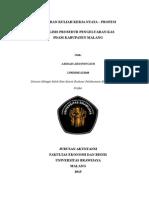 Sampul Laporan KKN Analisis Prosedur Pengeluaran Kas
