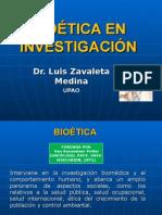 Teoría 03 Bioetica en Investigacion 2012-20