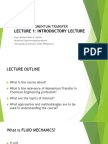 Lecture 1 - Introductory Lecture