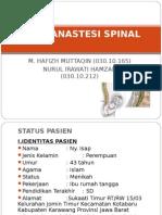 Case Anastesi Spinal