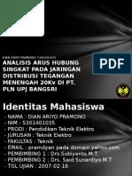 Analisis Arus Hubung Singkat p 5301401035