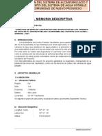 Memoria Descriptiva Final