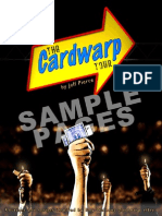 The Cardwarp Tour by Jeff Pierce