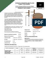 Pompa Pneumatica de Transvazare Si Umplere