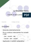 Grounded Theory - fra qualità e quantità