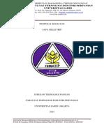 Proposal studi banding dan kunjungan industri