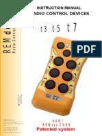 Manual SeriaT 3 -Radiocomanda