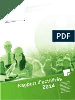 Rapport d'activité 2014 du Cypres