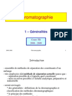 Chromatograhie methodes et principe