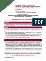Pieces a Fournir Ordre des Pharmaciens