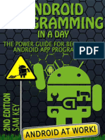Android Programming in a Day 2n - Sam Key