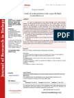 Ethnobotanical study of medicinal plants in the region El Hajeb (central Morocco)