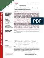 Ferulic acid modulates ultraviolet-B radiation mediated inflammatory signaling in human dermal fibroblasts