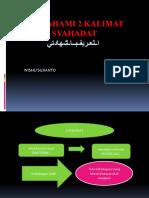 MEMAHAMI 2 SYAHADAT