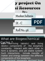 Biology Ppt on natural resources