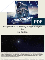 Example Moving Image Analysis - Attack the Block