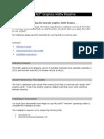 Autodesk AutoCAD Graphics Hotfix Readme