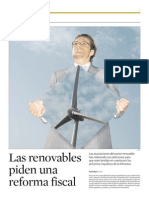 Reforma fiscal renovables