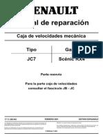 Caja de Veloc Jc7-Renault
