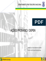 Acoes Pronasci - Depen
