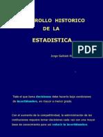 Historia de la Estadistica