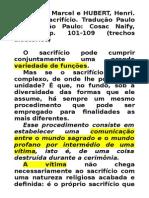 CONCLUSÃO - mauss sacrificio
