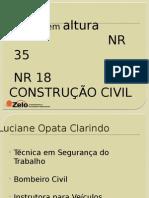 NR 35 Construção Civil