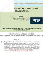Tunjangan Profesi Bagi Guru Profesional, Lpmp 27 Feb 2015