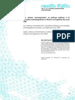Cabral - Luz, Câmera, (Concentr)Ação! as Políticas Públicas e Os Mercados Cinematográficos No Brasil e Na Argentina 1990