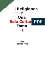 Tres Religiones y Una Sola Cultura (Tomo I, El Espiritismo)(Original) -PRINT