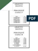 Etiqueta Caixa Arquivo_Arquivo Inativo_Caixa 17 e 18