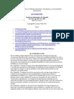 Dialéctica, Lógica y Formalización de Hegel a La Filosofía Analítica