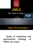Amul Icecream Presentation