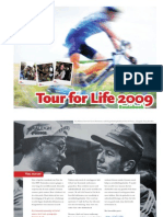Routeboek Tour for Life 2009