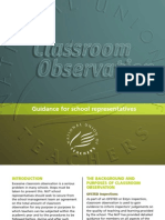 Class Room Observations Booklet