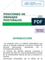 Posiciones de Drenajes Posturales