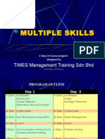 Multiples Skill Inhouse Program