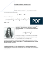 Polinomios en Series de Taylor